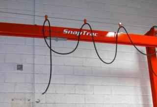 Snaptrac - What is a Monorail Crane? - Kundel Inc